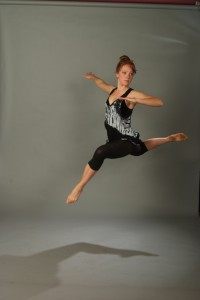 Mallory Waytashek, dancer; photography by Wayne Schmidt